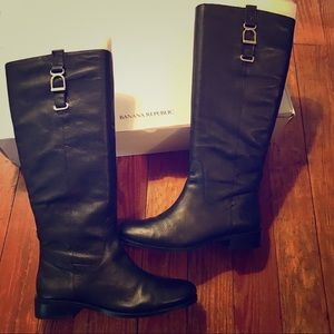 Banana Republic Willow Black Riding Boot